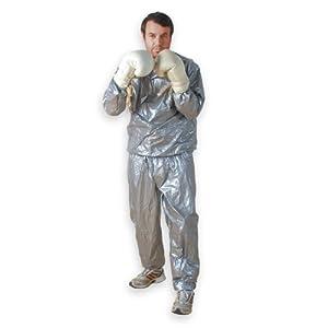 MOVIT® Schwitzanzug, frei von Schwermetallen und Phthalaten, CTI geprüft, 2-teilig, Unisize, Sauna Suit