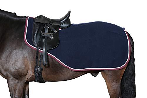 Horse Guard Ausreitdecke Nierendecke Wolle XL braun-Creme