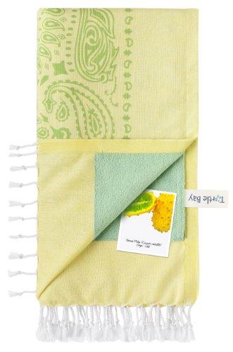 turtle-bay-telo-mare-pareo-asciugamano-di-spiaggia-kikoy-towel-paisley-colore-sun-minty-green-dimens
