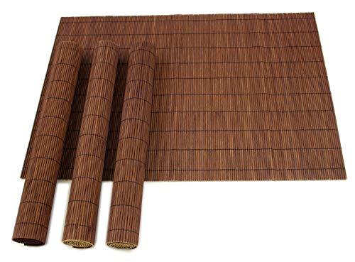 Juego 4x/L bambú manteles individuales Oriental
