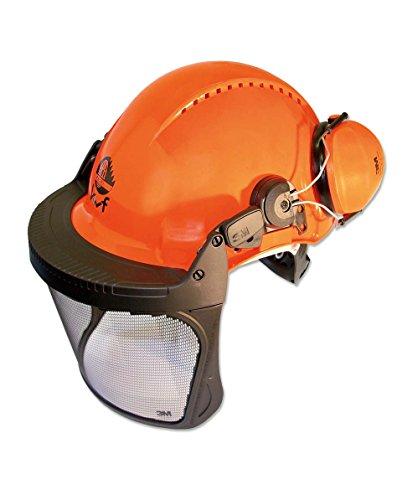 3M Forest XA007707376 Forstschutzhelm mit integriertem Visier Orange