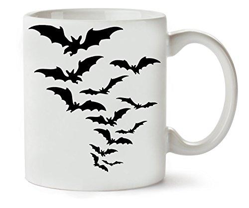Halloween Bats Flying Klassische Teetasse Kaffeetasse