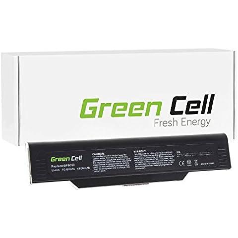 Green Cell® Standard Serie Batería para NEC Versa M540 Ordenador (6 Celdas 4400mAh 10.8V Negro)