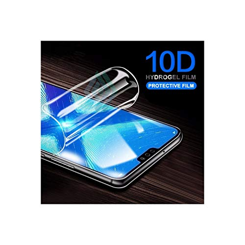 Monicago Schutzfolie New 10D Full Screen Hydrogel Film On The for Mate 20 Pro10 Lite Protector Film for P30 20 Lite Pro Protective Film for P20 Lite 10D Hydrogel Film Body Protector Film