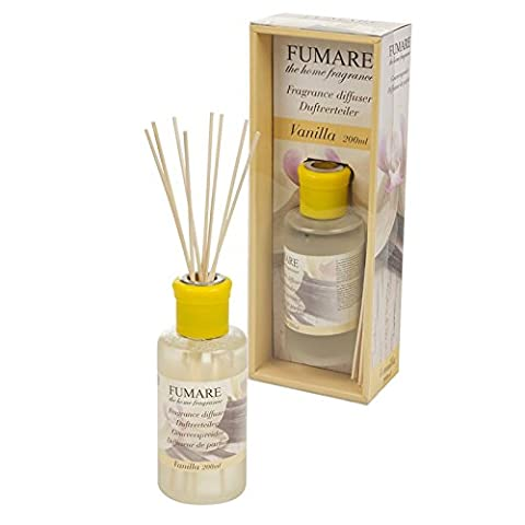 Large 200ml Fragrance Perfume Oil Reed Diffuser Air Freshener Home Scented Aroma by Fumare