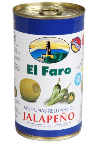 El Faro – Oliven mit Jalapeno Gefüllt 150 g