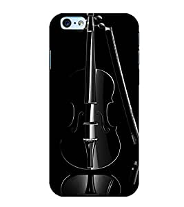 Printtech Music Violin Instrument Back Cover Case for Apple iPhone 6Plus / 6S Plus
