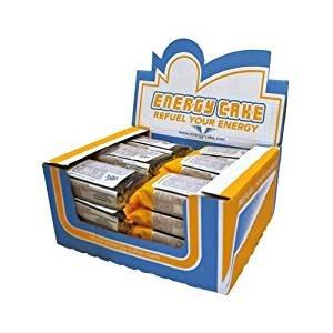E.L.F Energy Cake - 24x125g, 1er Pack (1 x 3000g) (Schoko/Banane) (Schoko-energie-riegel)