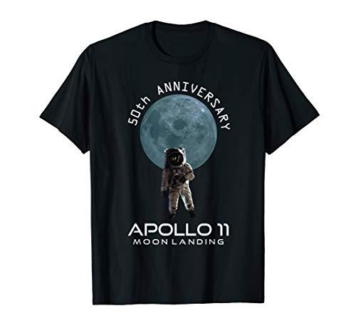50. Jahrestag Apollo 11 Mond Landeplatz Ein erster Schritt T-Shirt (Landeplatz 11)