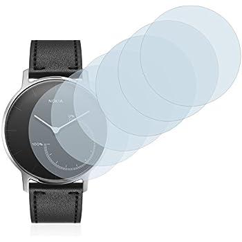 Savvies Film Protection décran Compatible avec Nokia Activité Steel [6 Pièces] -