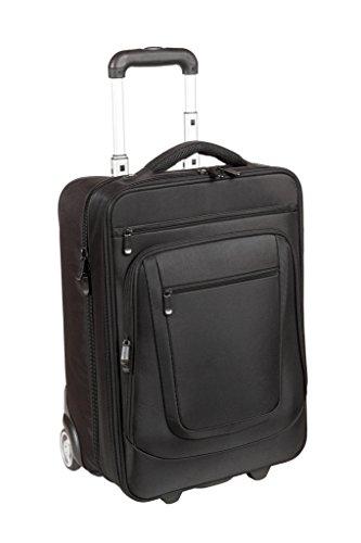 Valise à roulettes noir 54 cm (3) d473NY luxe manager bordgepäck dermata lefox/polyester