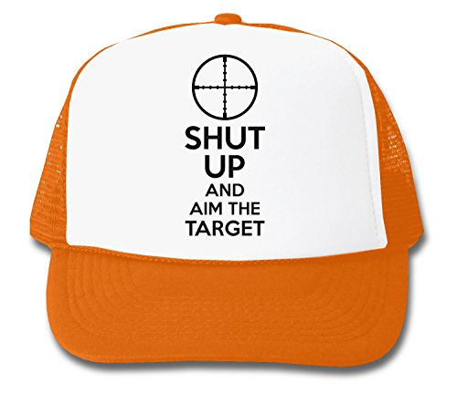shut-up-and-aim-the-target-trucker-cap