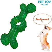 PSK PET MART Indestructible Dog Chew Toys Tough Durable Rubber Bone Toys for Medium/Large Dogs and Aggressive Chewers (Colour May Vary)