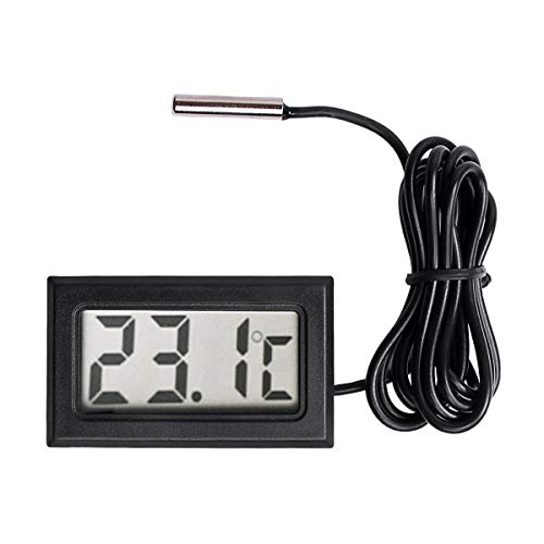 SODIAL Digitales LCD Thermometer Temperaturfuehlerfuehler -50 Celsius bis + 110 Celsius Angebot