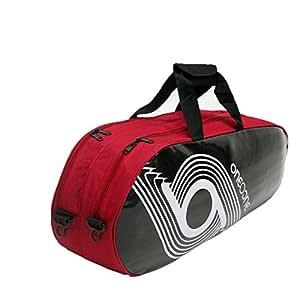 One O One - Xhale Collection Double Black & White - Badminton/Tennis Kitbag