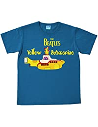 The Beatles - Vintage Yellow Submarine Easyfit T-shirt - bleu - Design original sous licence - LOGOSHIRT