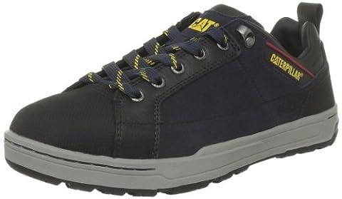 Cat Brode S1P, Men Chelsea Boots, Blue (Navy), 9 UK (43 EU)