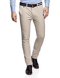 oodji Ultra Hombre Pantalones Chinos Básicos