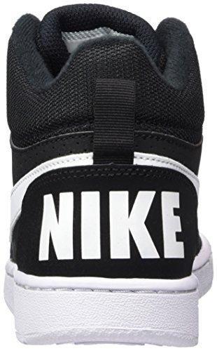 Nike 839977-004, Chaussures de Tennis Garçon Noir (Black / White)