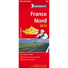 Carte NATIONAL France Nord 2012