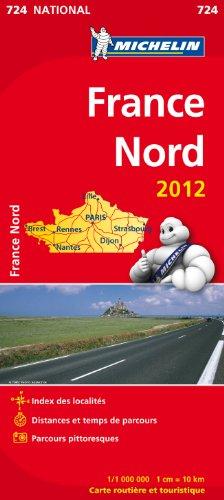 Carte NATIONAL France Nord 2012
