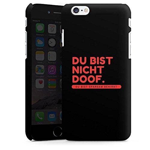 Apple iPhone X Silikon Hülle Case Schutzhülle Doof Sprüche Lustig Premium Case matt
