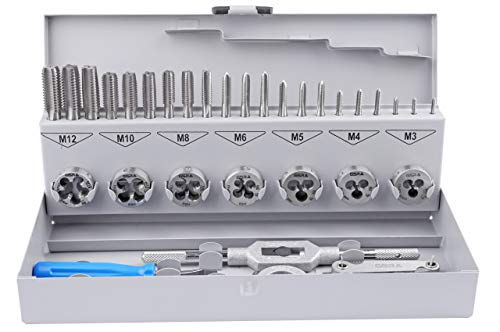 PROFI 32pièces Kombi set, M3-M12, HSS-G, GSR, Taraud, filière
