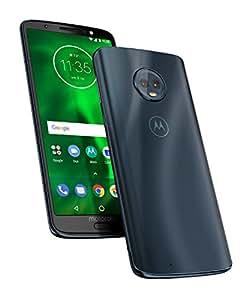 motorola moto g6 5.7-Inch Android 8.0 Oreo UK Sim-Free Smartphone with 3GB RAM and 32GB Storage (Single Sim) - Deep Indigo