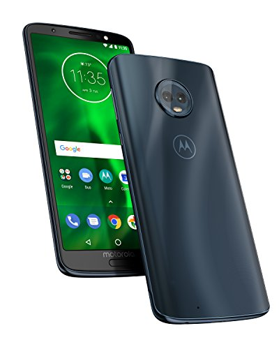 motorola moto g6 64GB  5.7-Inch Android 8.0 Oreo UK Sim-Free Smartphone with 4GB RAM and 64GB Storage (Dual Sim) - Deep Indigo (Exclusive to Amazon)