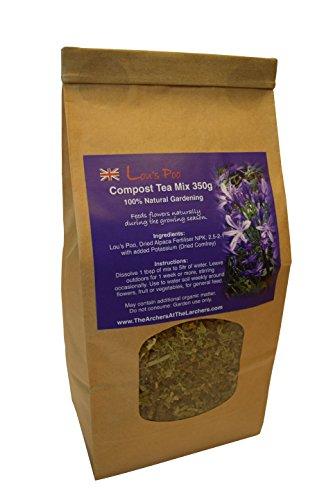 Nutley's Lou's Poo Alpaca Compost Tea Mix Fertiliser 350g
