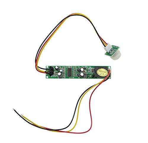 Demarkt TDL-728 12V menschliche Körper Sensor-Schalter Infrarot-Sensormodul kleine Größe Körper-Sensoren - Tdl-modul