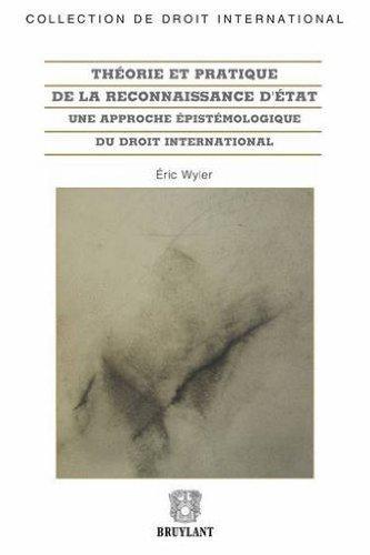Theorie prat.recon.d'etat approc.epistemologiq by Wyler Eric (June 17,2013)