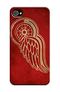 Personnaliser Detroit Red Wings NHL 4s-nhl-iphone-4/iPhone 4/4S Case Coque en TPU pour iPhone 4/4S Motif