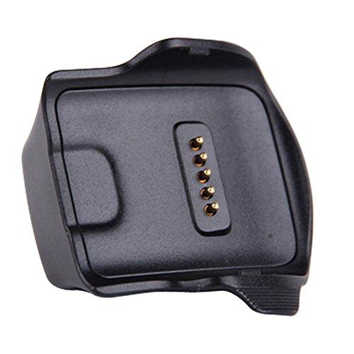 Demiawaking Ladegerät Lade Dock Cradle + Kabel für Samsung Galaxy Gear Fit R350 Smartwatch Cradle-kabel