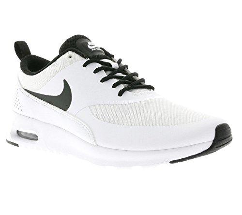 Nike - Air Max Thea, Scarpe Da Corsa da Donna Bianco (102 WHITE/BLACK-WHITE)