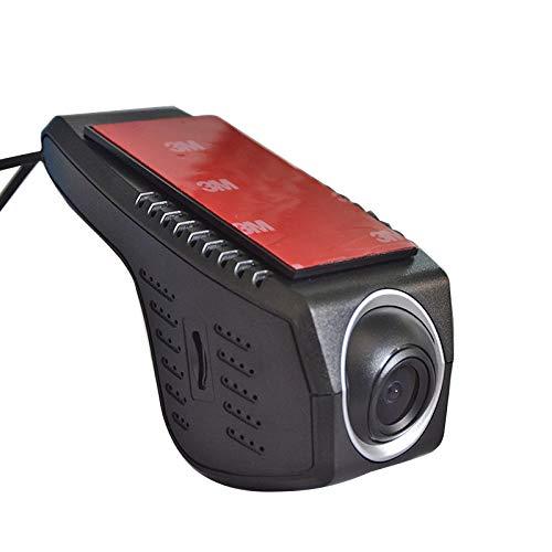 HUIGE Dash Cam mit WiFi, diskrete Design-Dash-Kamera für Autos, Auto-Fahrer-Recorder DVR Road Recorder CAM GPS Stealth Full HD 1080P