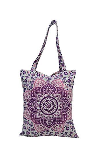 Trade Star Mandala Indian Shopping Bag
