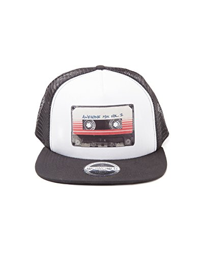 Guardians of the Galaxy 2 - Mixtape Vol. 2 Trucker Cap - Pet  - Snapback (Alle Trucker Schwarz Hut)