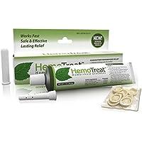 Preisvergleich für HemoTreat Hämorrhoiden Behandlung Creme - HemoTreat 1 Tube mit internem Applikator - Schnelle Sicher Effektive...