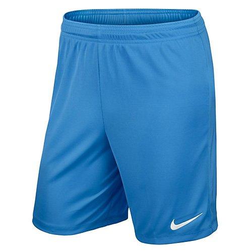 Nike Kinder Park II Knit Shorts ohne Innenslip, university blue/white, XS, 725988-412