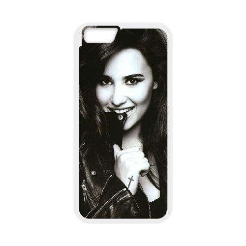 Demi Lovato coque iPhone 6 4.7 Inch Housse Blanc téléphone portable couverture de cas coque EBDXJKNBO10638