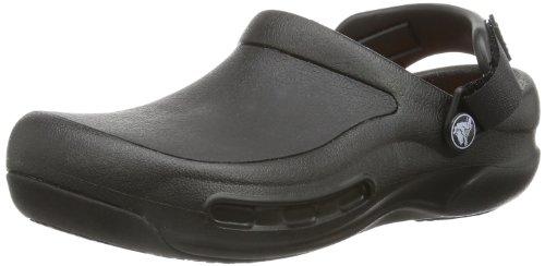 crocs Bistro Pro Clog, Unisex-Erwachsene Clogs, Schwarz (Black 001), 39/40 EU (M6/W7 Unisex-Erwachsene UK)