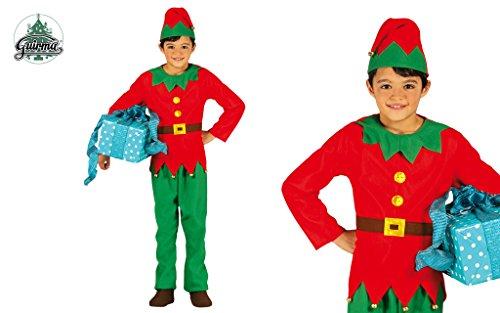 Costume da elfo bambino 10-12 anni
