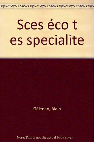Sciences économiques, terminales ES (enseignement de spécialité)