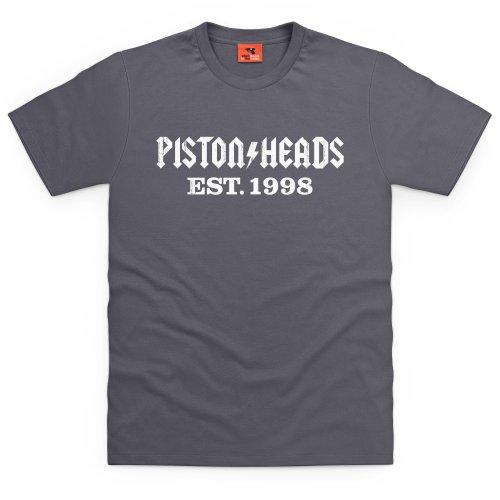 PistonHeads AC T-Shirt, Herren Anthrazit