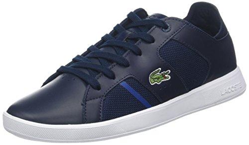 Lacoste Sport Herren Novas 318 2 SPM Sneaker, Blau (Nvy/Dk Blu Nd1), 44 EU