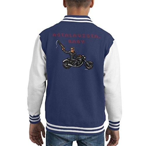 Cloud City 7 Terminator T1 Astalavista Baby Kid's Varsity Jacket