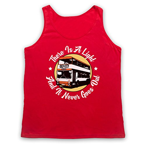Smiths There Is A Light That Never Goes Out Double Decker Bus Tank-Top Weste Rot