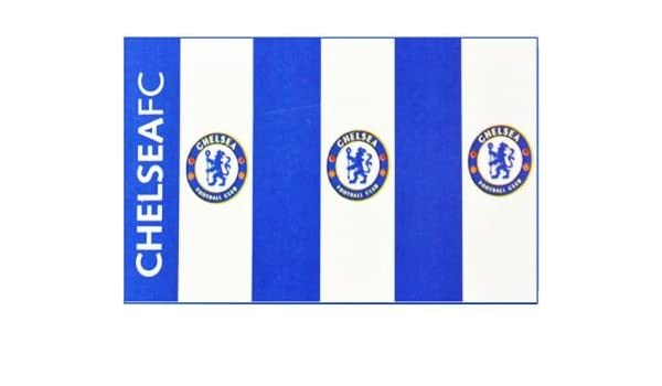 Everton Blue And White Striped 5ft x 3ft 150cm x 90cm Flag