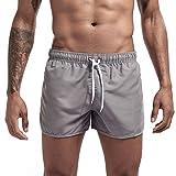 ☀NnuoeN☀ Pantaloni Corti da Uomo Pantaloncini da Bagno da Uomo Pantaloncini da Bagno Pantaloncini da Asciugatura Rapida Multicolore Pantaloni per Spiaggia